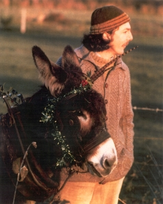 Kevin O'Hara, the Donkey-man, with his Missie Mickdermott!