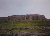 Ancient ruins of Dun Aengus, on Inis Mor