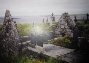 St. Enda's Churchyard on Inis Mor of the Aran Islands