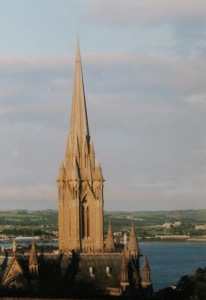 St. Colman's Cathedral in Cobh (pronounced Cove)