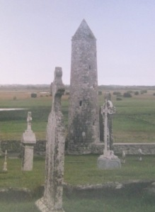 Clonmacnoise is an early Christian site, on the banks of the River Shannon, founded by St. Ciaran in the mid-6th Century (www.heritageireland.ie)